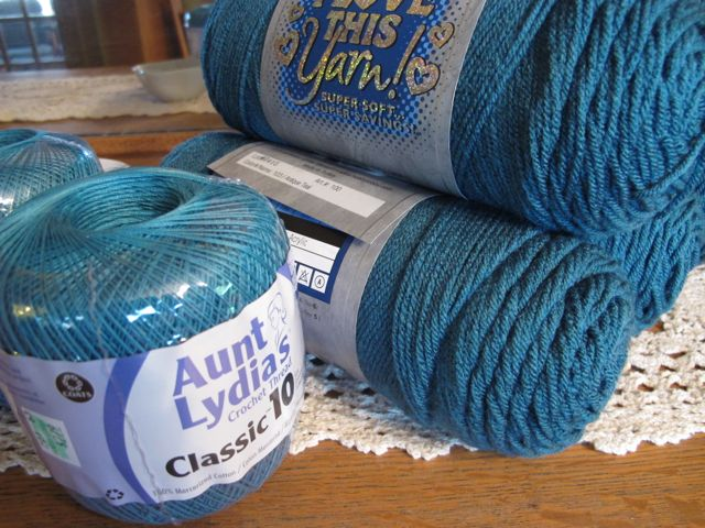Aunt Lydia's & I Love This Yarn