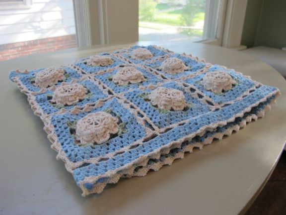Rose Table Runner