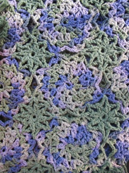 Crocheted Lorelai Shawl