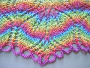 Chroma Lollipop Haruni Shawl