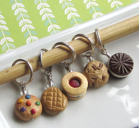 OneElf Etsy Cookie Stitch Markers