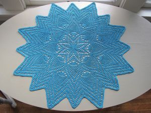 Sunburst Pineapple Doily