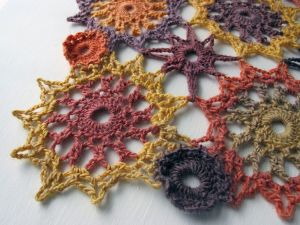 Circular Motif Shawl by Babycakes Creates