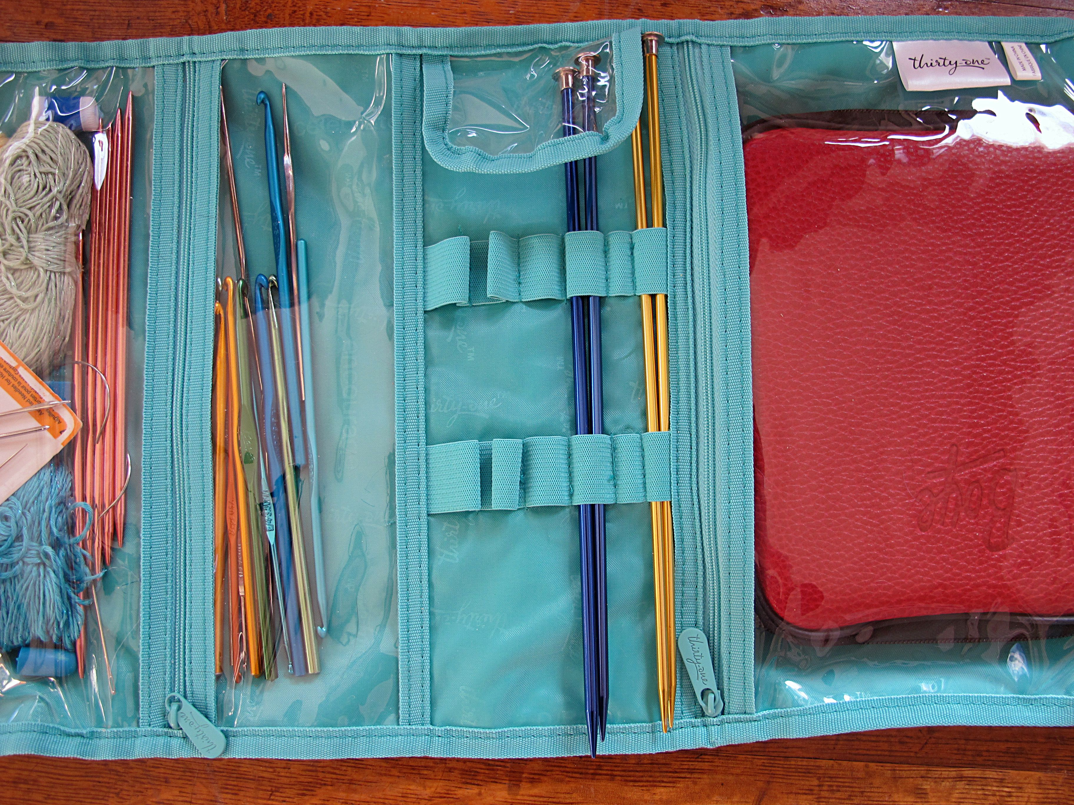 Knitting Supplies Storage Ideas : My knit and crochet supply bag babycakes creates