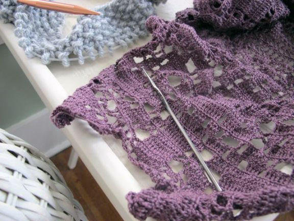 Crocheting and Knitting Projects