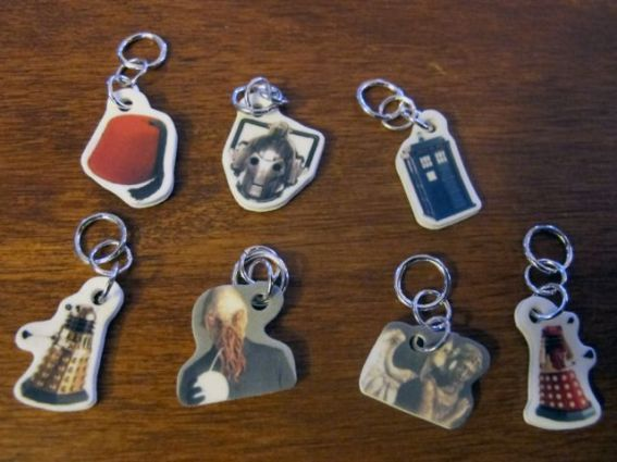 Doctor Who Stitch Markers