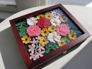 Framed Flowers 1