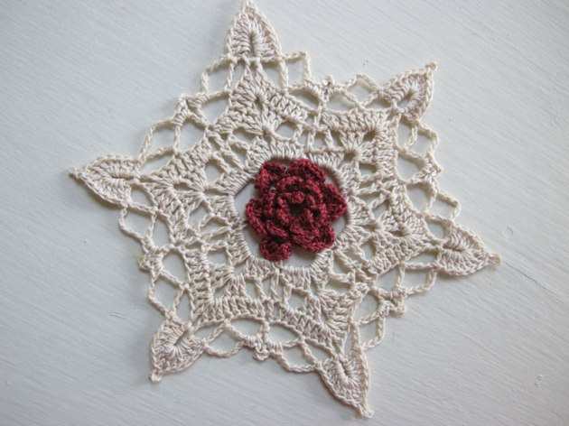 Mother's Day Snowflake Ornament
