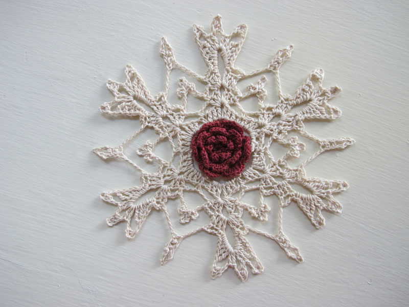 3D Crystal Snowflake Ornament