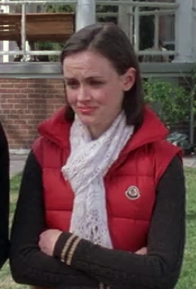 Rory Crocheted Scarf Gilmore Girls