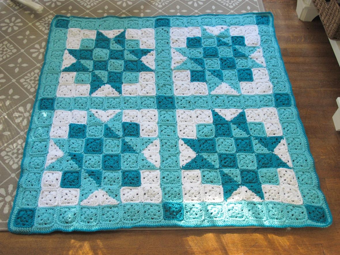 Crochet Quilt Baby Blanket